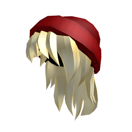 Red Beanie Blonde Hair Roblox Wikia Fandom