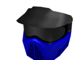 Blue Paintball Mask
