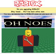 Maintenance Roblox Wikia Fandom
