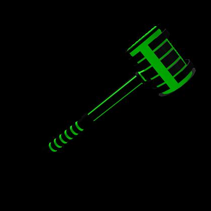Green Lazer Hammer Roblox Wikia Fandom Powered By Wikia