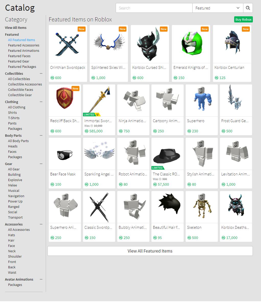 Tutorial:How to use the catalog   Roblox Wikia   FANDOM ...