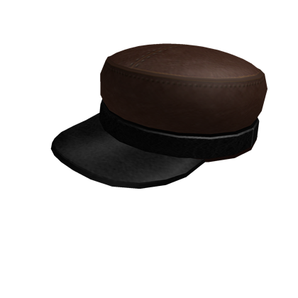 File:Plain Leather Military Cap.png