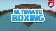 Ultimate Boxing ROBLOX Battle Arena 2018 Thumbnail