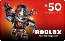 $50 Roblox GiftCard