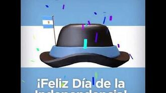 Argentina Independence Day Hat