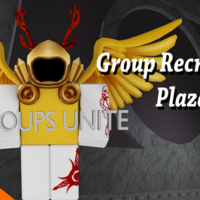 Roblox Cant Join Groups Group Recruiting Plaza Roblox Wikia Fandom