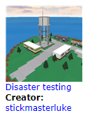 DisasterTesting