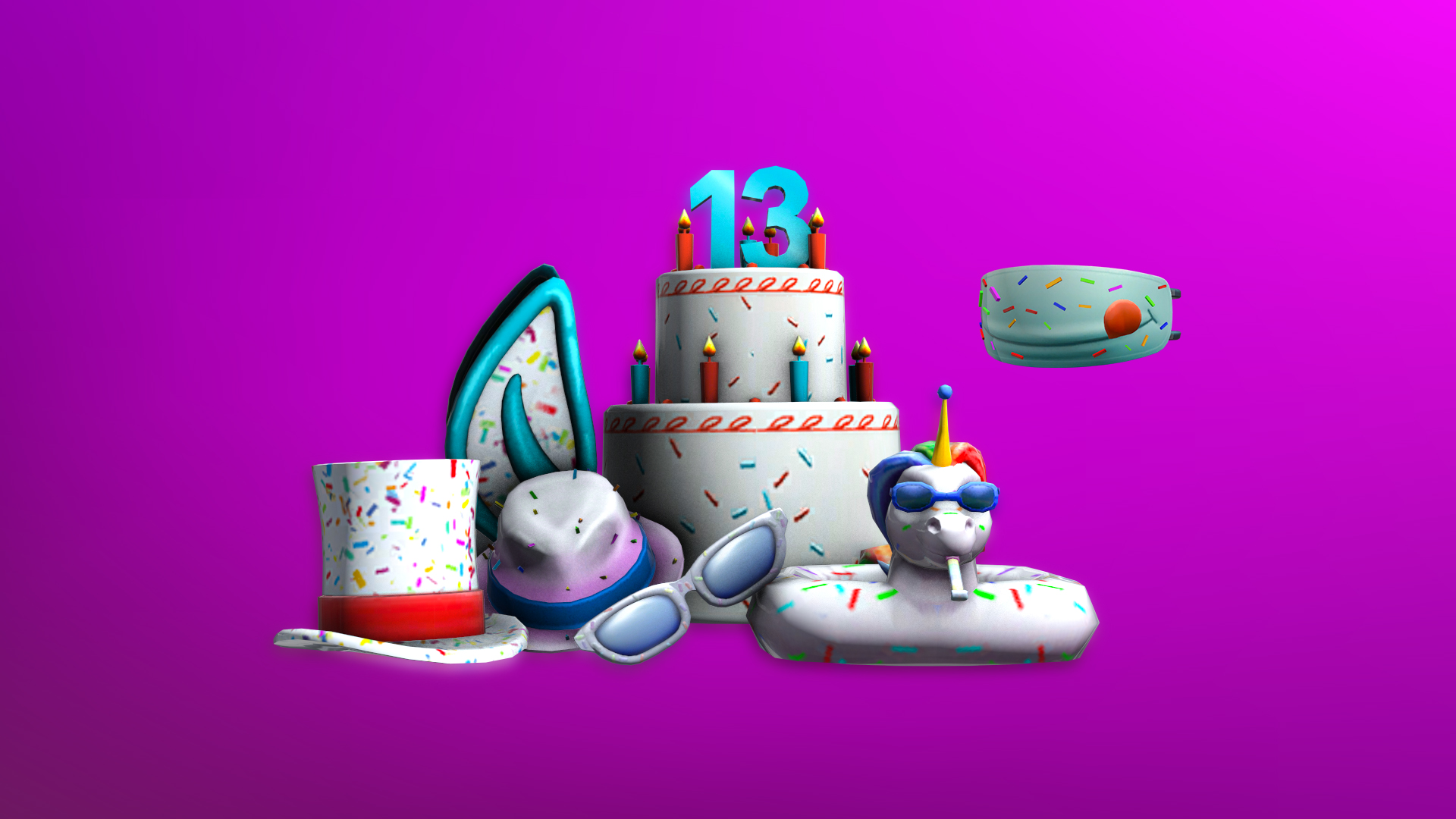 13th Birthday Cake Mask Contest Roblox Wikia Fandom