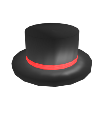 Red Banded Top Hat Roblox Wikia Fandom