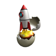 Rocket Eggscape