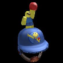 Blue Dodgeball Helmet