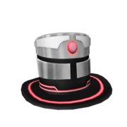 Corrupted Robot Top Hat