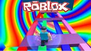 Fake obby game