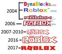 Roblox Logo Evolucion