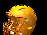 Golden Football Helmet of Participation