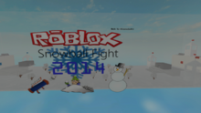 ROBLOX Snowball Fight 2014