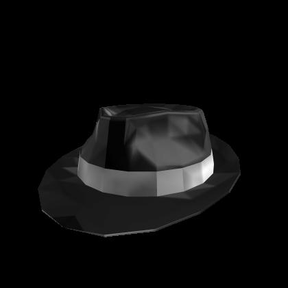 Black Sparkle Time Fedora  23ca925620dc