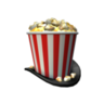 Showtime Bloxy Popcorn TopHat
