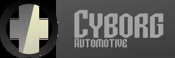 New Cyborg Automotive Combined Logo