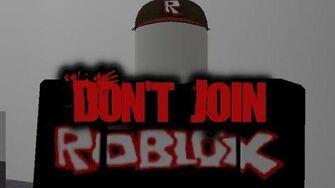 Roblox Creepypasta Accounts Don T Join Roblox Creepypasta Wiki Fandom