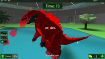 Dinosaur Hunter - Fire Godzilla