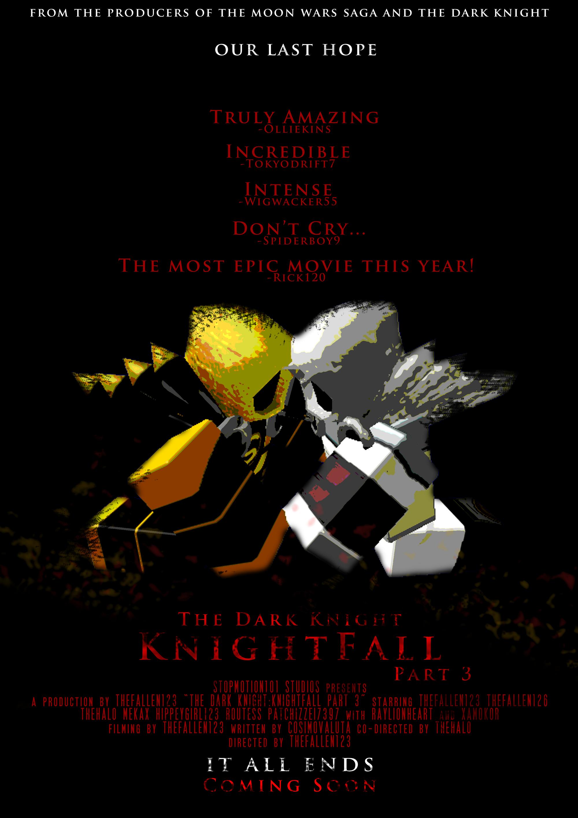 Silent Dark Roblox - The Dark Knight Knightfall Roblox Film Wiki Fandom