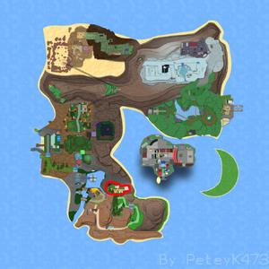 Mitis Town on Map