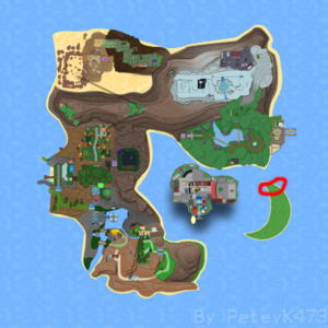 Crescent Town on Map