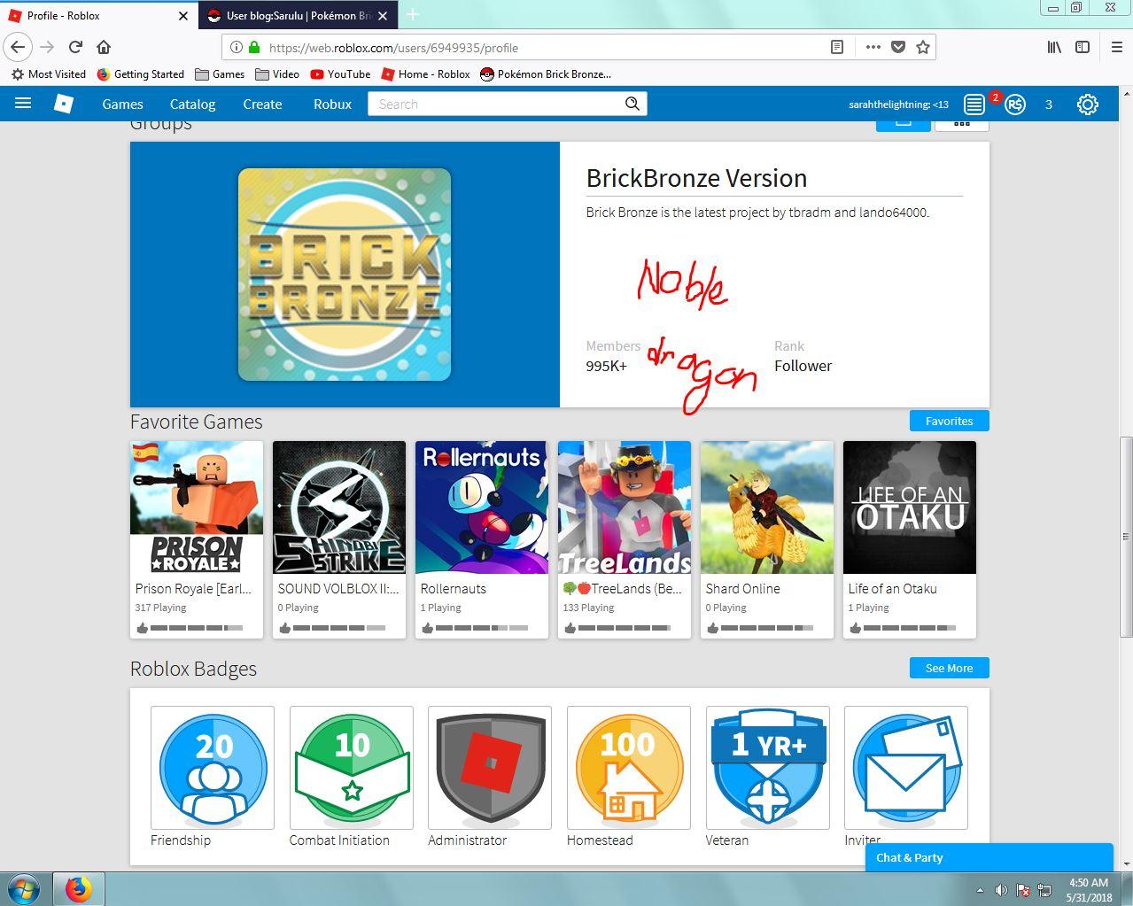 User Blog Sarulu Nobledragon Pokemon Brick Bronze Wikia Fandom