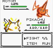 Rotom Attacking