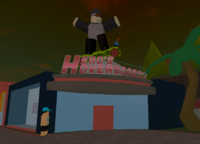 Hero's Hoverboards Decca Branch