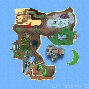 Cragonos Mines on Map