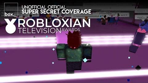 Box @ Robloxian Television Awards 2018 - Awards Ceremony Coverage
