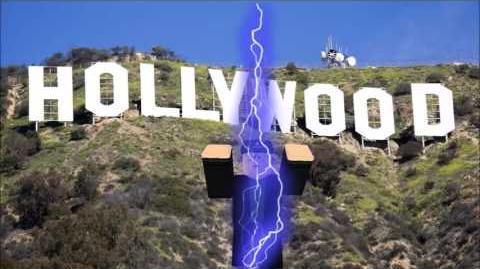 Budd Visits Hollywood