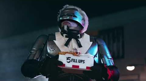 KFC Hungry Boy Colonel RoboCop