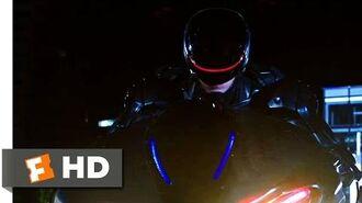 RoboCop (2014) - Robocop vs ED-209 Drones Scene (9 10) Movieclips