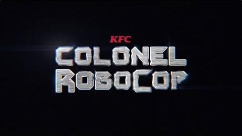KFC Colonel RoboCop is here Colonel Robocop