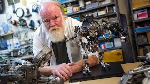 Robocop 2's Cain Robot with Phil Tippett