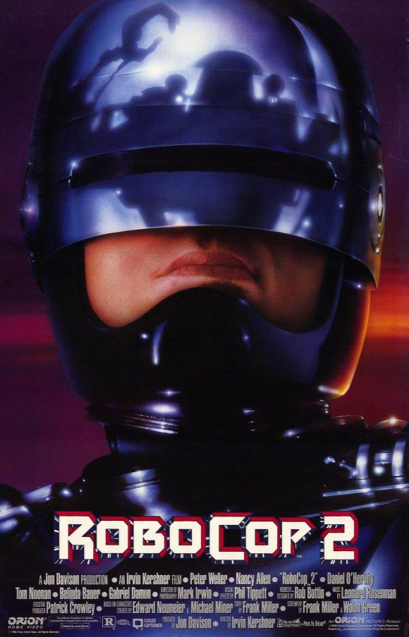 Robocop2 Robocop NEW Poster #2
