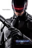 Robocop remake fanposter