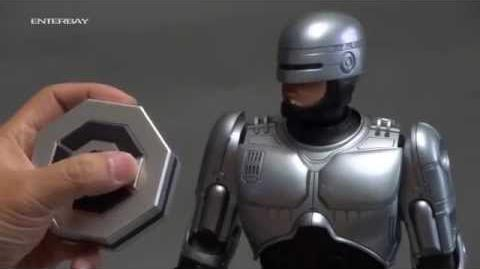 RoboCop toy demonstration - ENTERBAY