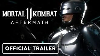 Mortal Kombat 11 Aftermath - Official Announcement & RoboCop Reveal Trailer