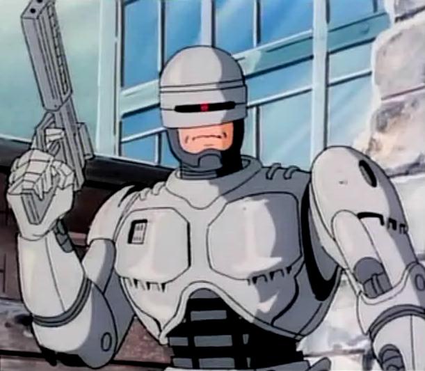 Image result for robocop cartoon