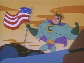 Commander Cash flag