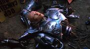 RoboCop dismemberd