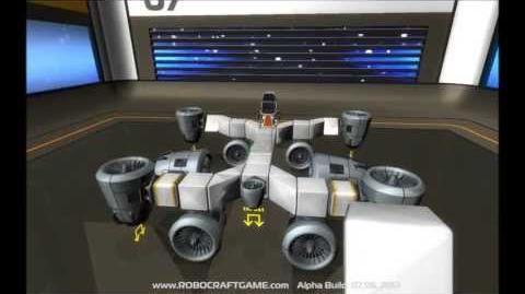 ROBOCRAFT - First Alpha Gameplay Trail