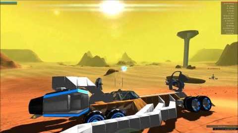 Robocraft - Test Firing Plasma Cannons