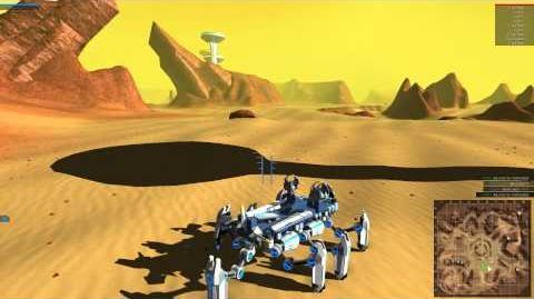 ROBOCRAFT Flying Walker (The Grasshopper) Eight Legs!