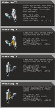 Spider Leg Info