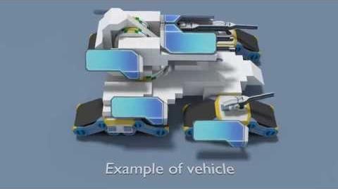 Robocraft - idea - Rotating platform and stationary weapon